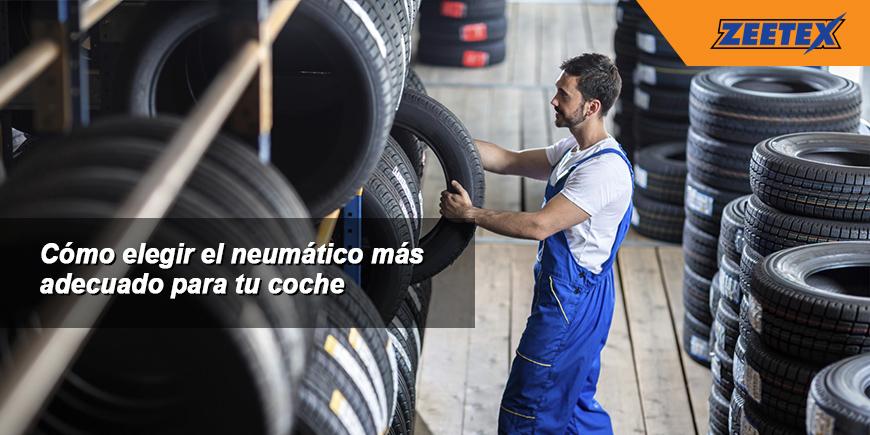 Cómo elegir el neumático más adecuado para tu coche
