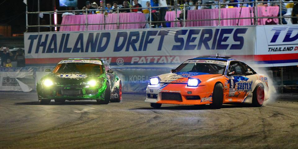 2 Trofeos para ZEETAX Thailand Drift Series 2014